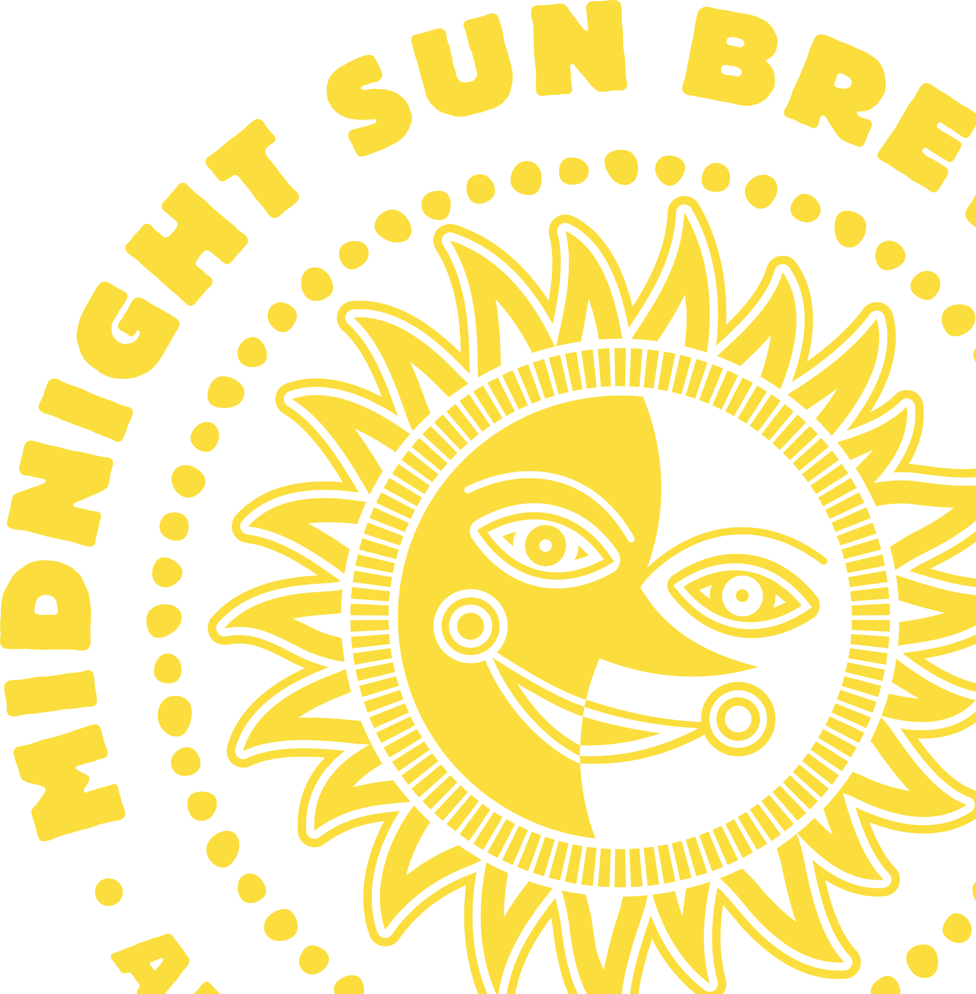 Midnight Sun logo accent